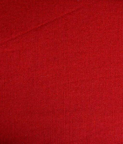 Gabardina Satinada Rojo Carmesi